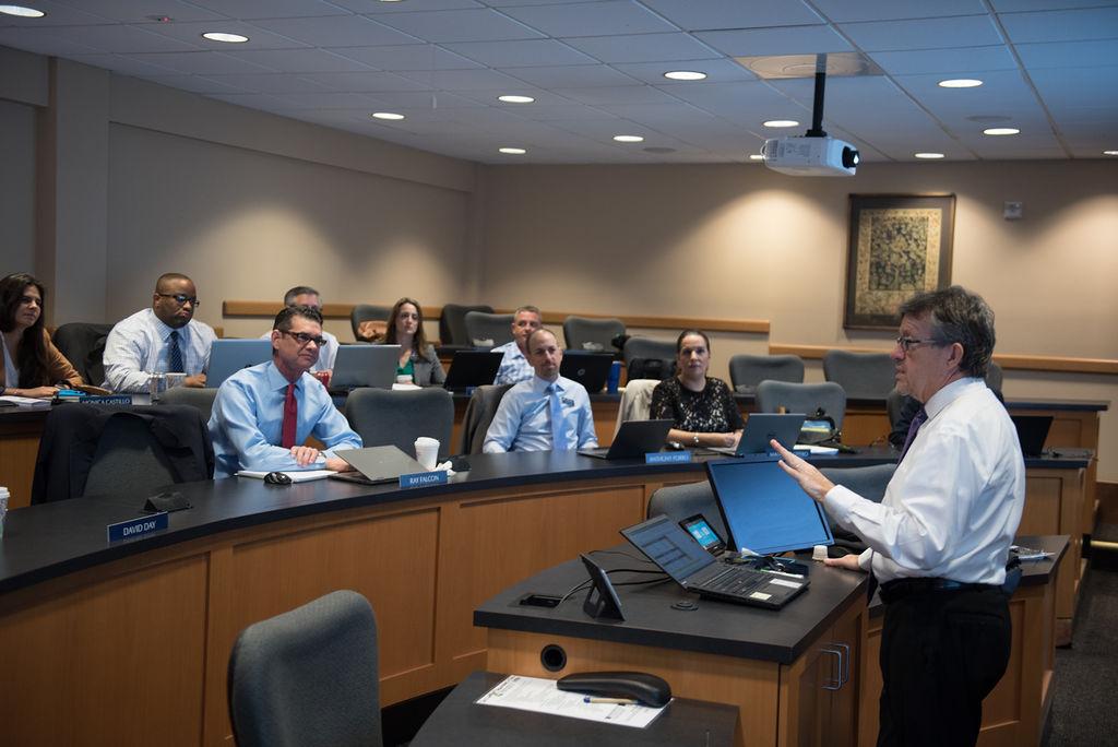 Dr. Jim Johnson Teaching